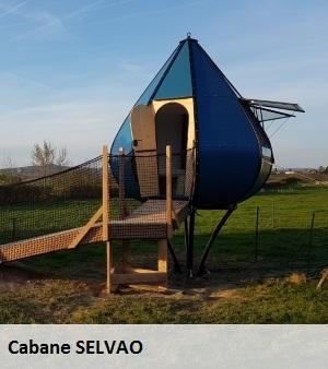 Construction de cabane en bois par Serviformes, usinage bois.