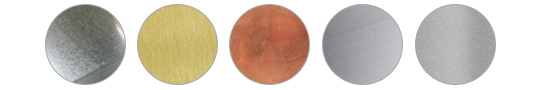 Découpe jet d'eau pour des matières très variées comme : acier, laiton, cuivre, aluminium, inox.